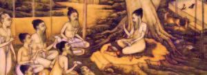 raffigurazione storica dei rishi
